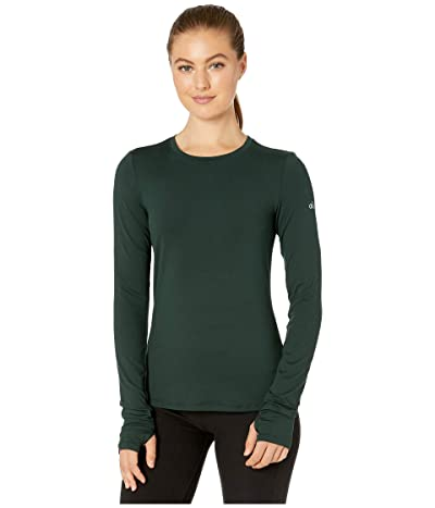 ALO Finesse Long Sleeve Top (Forest) Women