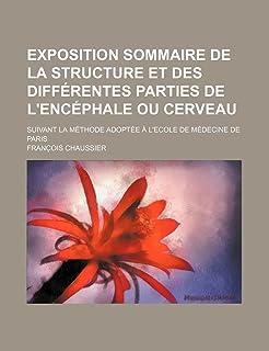 Exposition Sommaire de La Structure Et Des Differentes Parties de L'Encephale Ou Cerveau; Suivant La Methode Adoptee A L'E...