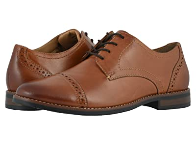 Nunn Bush Fifth Ward Flex Cap Toe Oxford (Cognac) Men