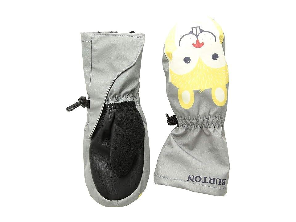Burton Kids Minishred Grommitt Mitt (Toddler) (Monument) Snowboard Gloves