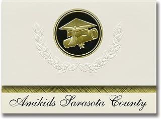 Signature Announcements Amikids Sarasota County (Sarasota, FL) Graduation Announcements, Presidential style, Elite package...