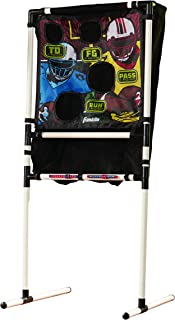 Franklin Sports Kids Football Target Toss with Mini Footballs - Indoor Football Passing Game for Kids - Football Passing Targets
