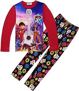 PCLOUD Coco Childrens Leisure Wear Home Clothes Pajamas Suit