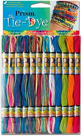 DMC Prism-Tie Prism Cotton Six Strand Floss Craft Thread, Tie Dye, 36-Pack