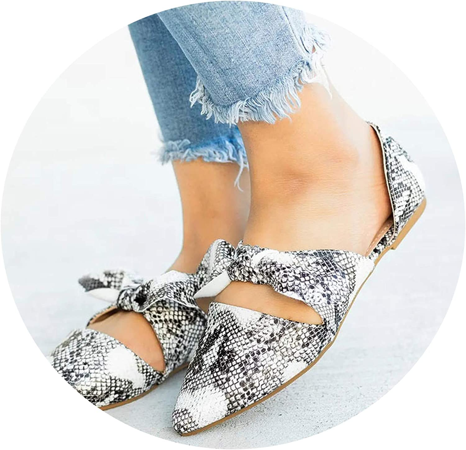 Women's Sandals Flat Summer Fashion Wedge shoes's Buckle Casual,Snake,10