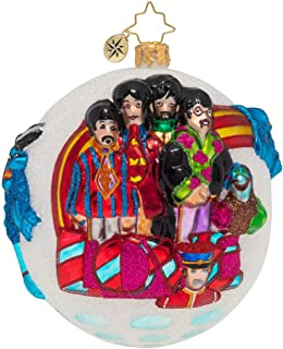 Christopher Radko Protecting Pepperland with Love Christmas Ornament, Multicolor