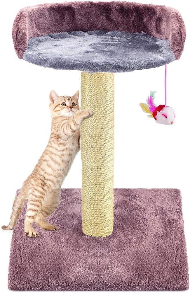 Zubita, giocattolo per gatti, albero tiragraffi