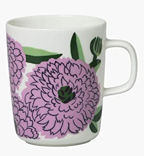 marimekko PRIMAVERA マグカップ ホワイト×ライラック×グリーン (23) [70157]