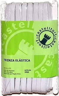 Ref.: 3000.10-25 Blanco CASTELLTORT 25 Metros DE Goma EL/ÁSTICA