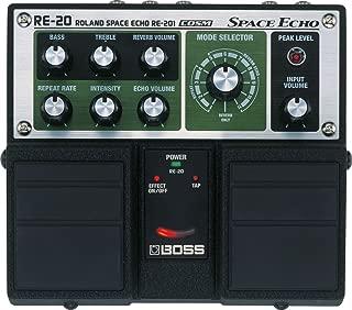 BOSS Space Echo Twin Guitar Pedal (RE-20)