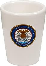 Express It Best Shot Glass -US Navy USS John C. Stennis (CVN-74)