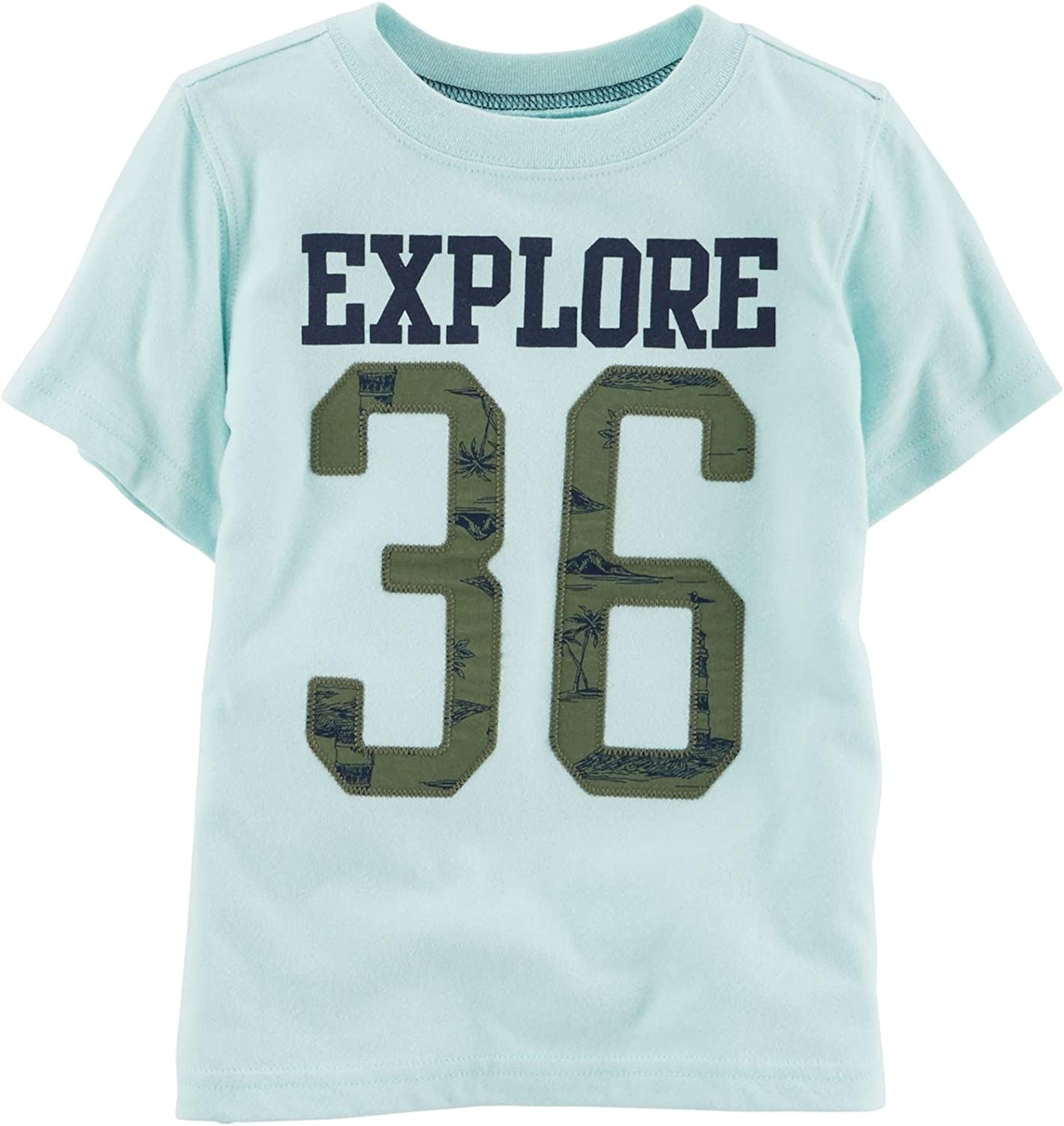 Carter's Little Boys' Graphic Tee (Toddler/Kid) - Explore 36-2T