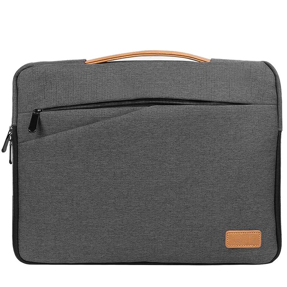 VG Case Slim Grey 15.6-inch Laptop Sleeve with Handle for Asus Q Series, Chromebook, ROG, TUF, VivoBook, AsusPro, ZenBook