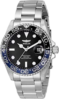 Invicta Women's Pro Diver Quartz Watch with Stainless Steel Strap, Silver, 20 (Model: 33258)