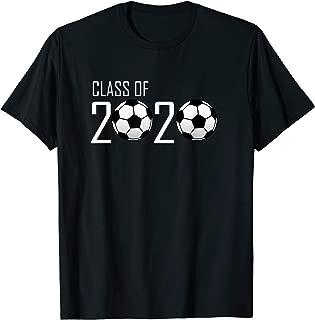 Class of 2020 Graduating Senior Soccer Ball Design  T-Shirt