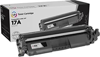 LD Compatible Toner Cartridge Replacement for HP 17A CF217A (Black)