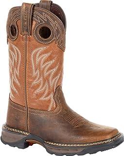 Durango Lil Maverick XP Big Kids Brown Western Work Boot