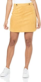 All About Eve Women's Cinch Suedette Skirt