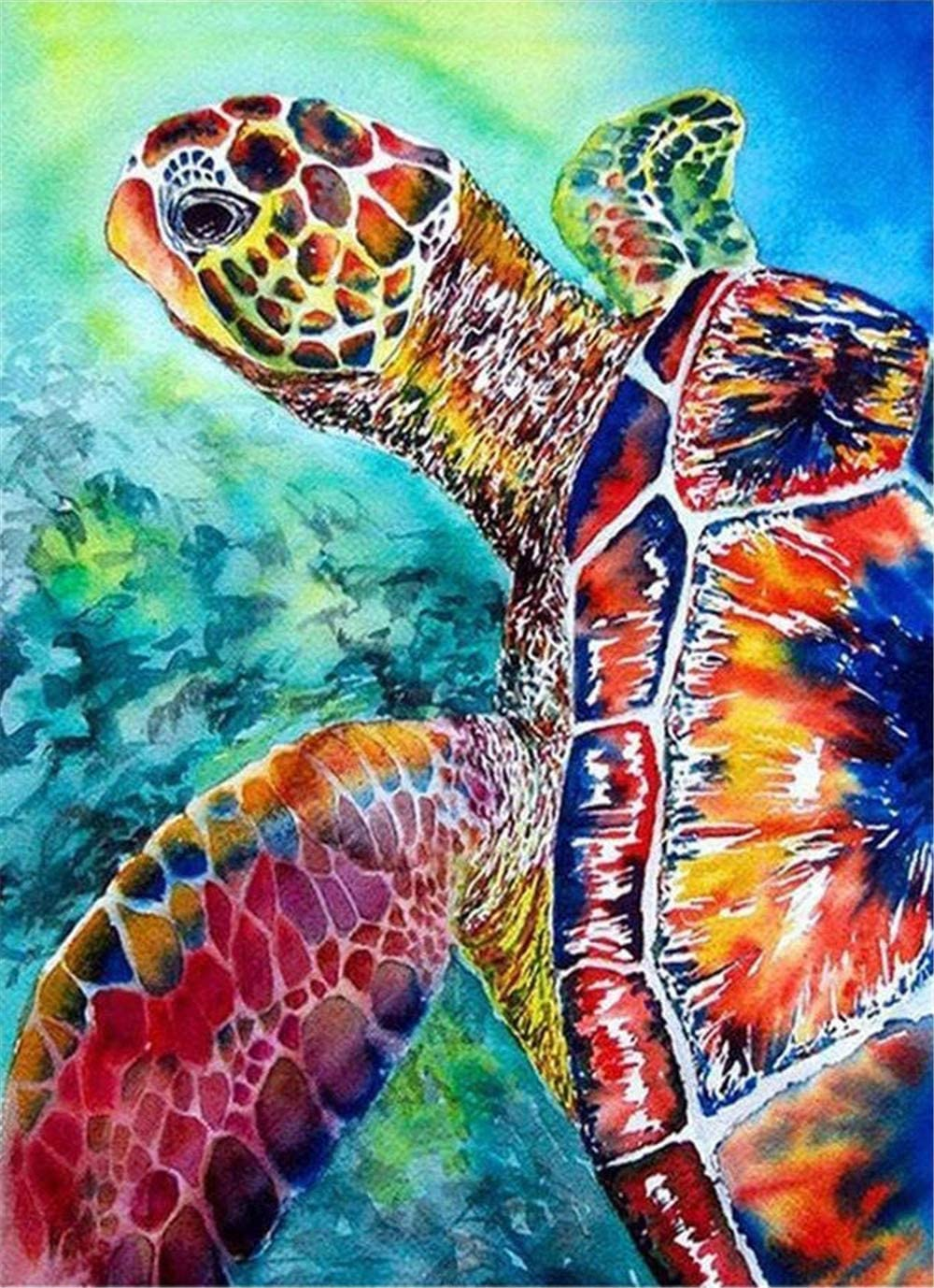 Paint-by-Number Kits for Adults Discount mail order Popular popular - Sea Turtle Colorful Includes