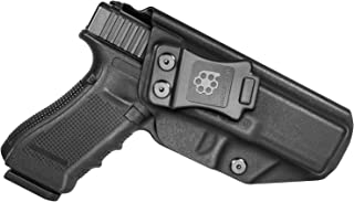 Amberide IWB KYDEX Holster Fit: Glock 17 22 31 (Gen 1-5) | Inside Waistband | Adjustable Cant | US KYDEX Made