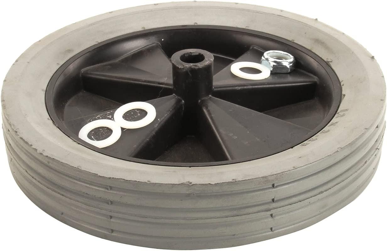 Rubbermaid 1011 L1 12 Inch Rear Wheel