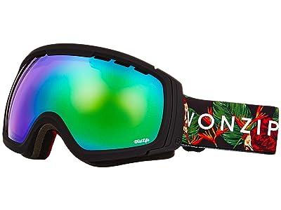 VonZipper Feenom NLS Goggle (Black Satin/Wild Quasar Chrome) Goggles