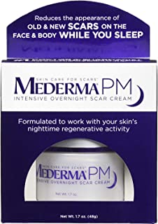 Mederma PM Intensive Overnight Scar Cream 1.7 oz ( Pack of 2)