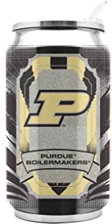 NCAA Purdue Boilermakers 16oz Double Wall Stainless Steel Thermocan