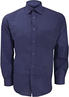 Kustom Kit Mens Long Sleeve Business Shirt