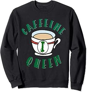 caffeine queen sweatshirt monogram