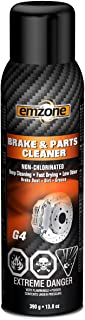 emzone 45040 Brake and Parts Cleaner (Non-Chlorinated), 13.8 Ounces