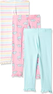 Mothercare Baby Girl's Cotton Leggings (Pack of 3)