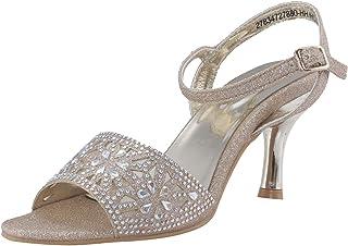 Khadims Women Beige Heel Sandal