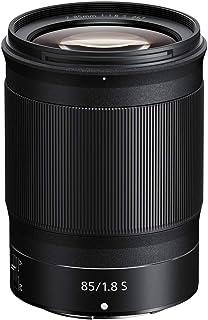 Nikon NIKKOR Z 85mm f/1.8 S Australian Warranty Nikon Nikkor Z 85mm f/1.8 S Lens, Black (JMA301DA)