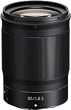 Nikon 20090 NIKKOR Z 85 mm f/1.8 S Lens - Black