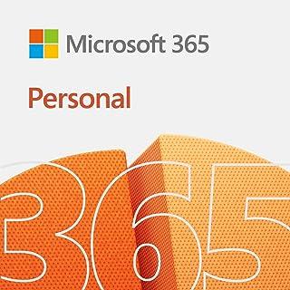 Microsoft 365 Personal(最新 1年版)|オンラインコード版|Win/Mac/iPad|インストール台数無制限(同時使用可能台数5台)
