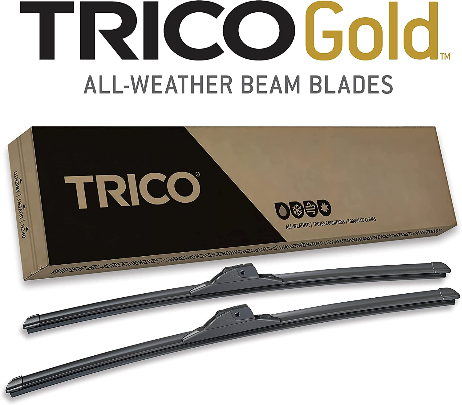 TRICO All items free shipping Gold Free shipping anywhere in the nation 26 Inch Pack of Automotive Windshield 2 Replacement W