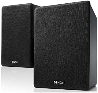 Denon CEOL-N10 Hi-Fi Bookshelf Speakers (Pair) | For Smaller Rooms and Houses