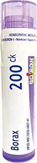Sponsored Ad - Boiron Borax 200CK, Homeopathic Medicine for Canker Sores, 1 Count