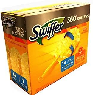 Swiffer Duster 360 Handle with Refills, 14 Count