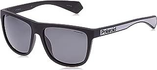 Polaroid Unisex Sunglasses, Square, PLD 6062/S - Black/Grey