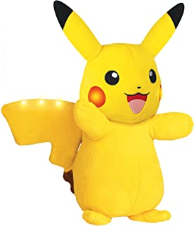 Pokemon Plush, Power Action Interactive Pikachu - Comes with Movement Sensors, Lights and Sounds
