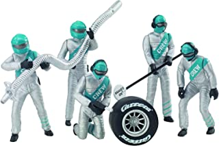 Carrera USA 20021133 21133 Figure Mechanices Realistic Scenery Accessory for Slot Car Race Track Sets, Silver