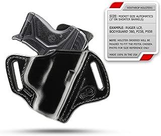 Kahr CM9 OWB Shield Holster R/H Black - 0008