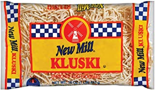New Mill Kluski Egg Noodle, 16-Ounce (Pack of 12)