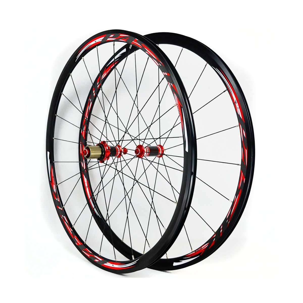 LIDAUTO Carbono Bicicleta Ruedas Tubular Mate Ultra Ligero 29,Red: Amazon.es: Deportes y aire libre
