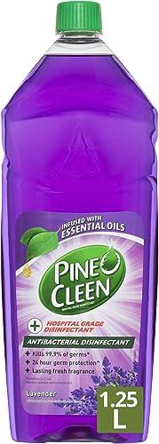 Pine O Cleen Antibacterial Disinfectant Liquid, 1.25L, Lavender