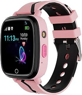 Kids Smart Watch GPS Tracker – Waterproof GPS Tracker Watch for Children Girls Boys..
