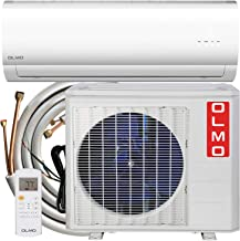 OLMO Alpic Ductless Mini Split Air Conditioner 12,000 BTU 115v/60hz 16 SEER with 16' installation kit