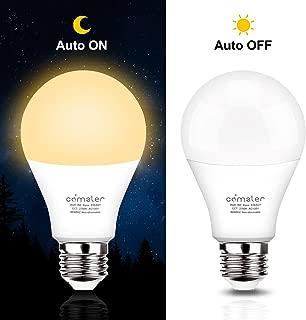 Smart Light Bulb Dusk To Dawn Light Bulb Smart Bulb Soft White Smart Bulbs Dusk To Dawn Led Outdoor Lighting, Sensor Light Bulbs Night Light Bulbs E26 Led Bulb Dusk To Dawn Sensor Light Bulbs (2 Pack)